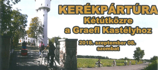 Kerékpártúra 2018.szeptember 8. szombat