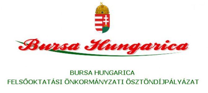 Bursa Hungarica pályázat 2019/2020
